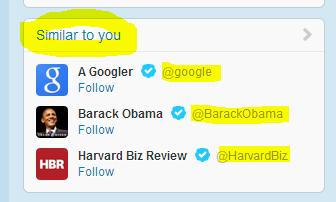 Twitter Flattery?
