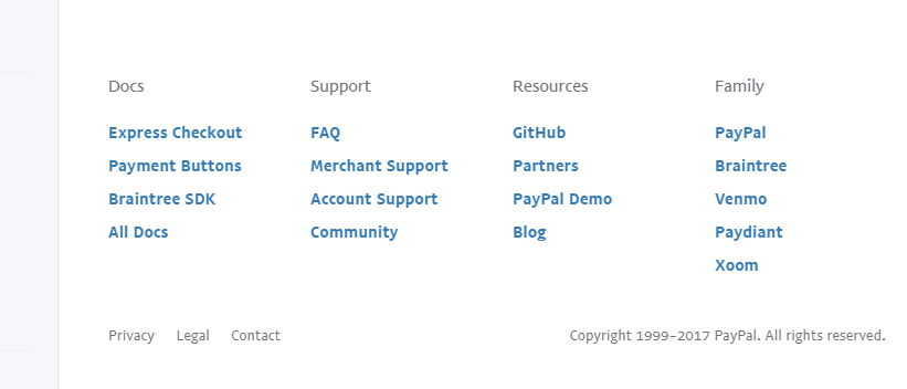 Paypal developer documentation 3
